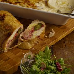 Plnená teľacia kotleta s figovou omáčkou a zemiakovými šiškami | Tajomstvo mojej kuchyne