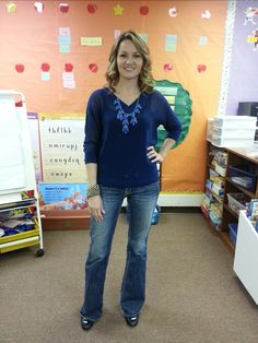 Teacher clothing blog-blue