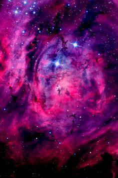 Lagoon Nebula in the constellation Sagittarius