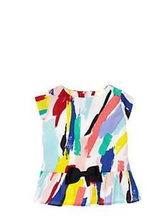 babies' peplum top by kate spade new york  in Market Street - The Woodlands