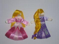 Princesas en listón, hermosas esculturas que encantan a todas las nenas, de Maryarena Bows
