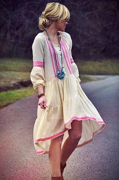 sweet boho dress