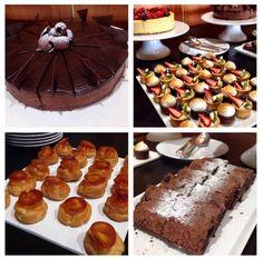 Mesa especial de sobremesas - Fui visitar o Villa Jockey e restaurante Valero - que foram restaurados e podem ser visitados pelo público no Jockey Club de São Paulo.
