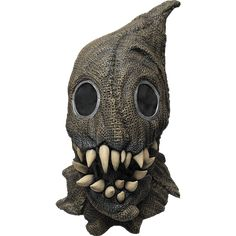 Fanged Sack Monster Scary Scarecrow Latex Halloween Horror Head and Neck Mask Spirit Halloween Costumes, Scary Halloween Masks, Creepy Masks, Halloween Horror, Scarecrow Mask, Scary Scarecrow, Haloween Mask, Mascaras Halloween, Monster Mask