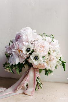 Romantic Blush and White California Wedding at Santa Barbara Resort