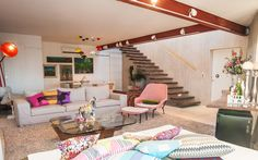 Living room by Tetu Arquitetura www.tetuarquitetura.com
