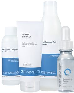 Acne Therapy for Dry/Mature Skin - Treats and prevents clogged pores, pimples, blackheads and enlarged pores. Comes with potent triple-acid serum for use once a week to minimize fine lines and wrinkles.