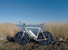 It's a solar powered electric bicycle