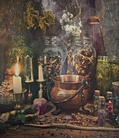 green witchcraft ~Connecting with Plant Energies~ As a green witch, I work with herbs for their medicinal, healing properties, but I also recognize and ~Connecting wi Plant Aesthetic, Witch Aesthetic, Aesthetic Green, Aesthetic Fashion, Aesthetic Art, Witch Cottage, Witch House, Witch Decor, Witch Art