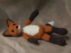 Crochet fox pattern at Craftsy! Gotta get this for Rose!