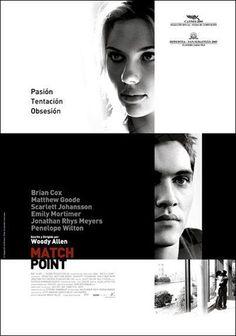 Match point (2005) Reino Unido. Dir: Woody Allen. Drama. Suspense. Romance - DVD CINE 364