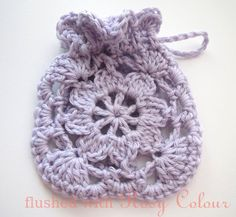 Flushed with Rosy Colour: Little Lavender Sachet, FREE Pattern