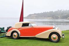 1934 Hispano-Suiza J12 Vanvooren Cabriolet