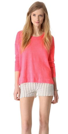 Linen Pullover, comfy style.
