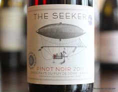 The Seeker Pinot Noir 2011 - Seek It Out For Your Next Pizza! A smooth and spicy Pinot Noir from France for only $10.   http://www.reversewinesnob.com/2013/01/the-seeker-pinot-noir-2011.html