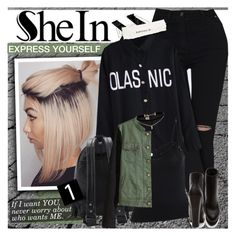 """""""SheIn - Express yourself!"""" by anita-n ❤ liked on Polyvore featuring Forever 21 and ASOS"""