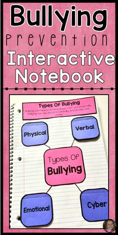 This bullying interactive notebook is a great way to teach your students about what bullying is, the types of bullying, how to stand up to a bully, and how to spread kindness. Great for individual or small group counseling lessons!