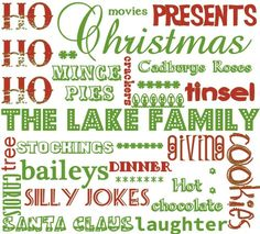 What Christmas Means To Me - Word Art - The Supermums Craft Fair Christmas Meaning, What Is Christmas, Christmas Crafts, Christmas Decorations, Silly Jokes, Craft Fairs, Word Art, Embellishments, Meant To Be