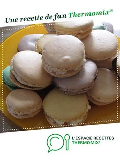 Recipe Ganaches pour macaron sortes) by learn to make this recipe easily in your kitchen machine and discover other Thermomix recipes in Pâtisseries sucrées. Macaron Flavors, Macaron Recipe, Ganache Macaron, Vanilla Macarons, Macaron Cookies, French Patisserie, Thermomix Desserts, Cooking Chef, Sweet And Salty