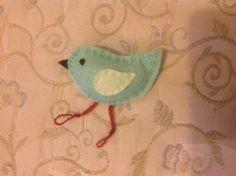Little bird brooch