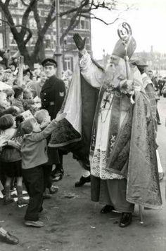 Intocht amsterdam 1955 #AllesVoor #Sint #Sinterklaas