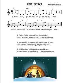 Pro Ježíška Christmas Villages, Kids Songs, Advent, Piano, Mario, Preschool Winter, Musica, Noel, Nursery Songs