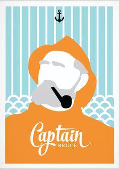 Captain Bruce! Ivar Martinsson 2015 http://ivari.se