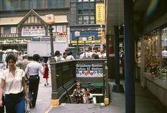 Broadway-Nassau-Fulton Street station, Manhattan.