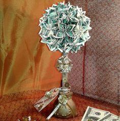 Купить Денежный топиарий. Денежный талисман. - денежный талисман, денежное дерево, Дерево счастья, топиарий