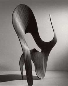 Ray Eames: Untitled (plywood sculpture), 1943.