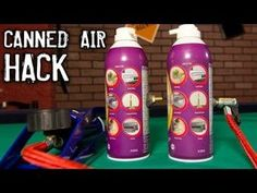 refillable compressed air can hack