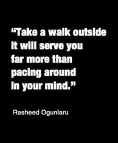 A walk ouside versus Pacino around in your mind.