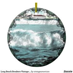 Long Beach Breakers Vintage Ornament