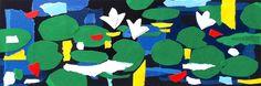 """andrea mattiello """"Last night"""" acrilico e collage su cartoncino  cm 45x15; 2015#andreamattiello #art #artistaemergente #emergingartist #collage #paper #cardboard"""
