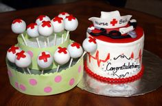 nursing cake pops - Google Search