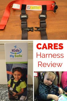 CARES Harness Review: An Alternative to Car Seats on Planes -- A complete review of the FAA-approved CARES airplane harness for toddlers and young children.
