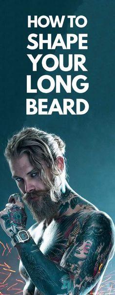 Long Beard Style! Long Beard Styles, Best Beard Styles, Latest Mens Fashion, Men's Fashion, Fashion 2020, Mens Facial, Long Beards, Beard Trimming, Mens Style Guide