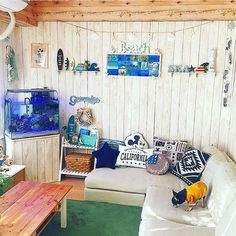 Diy Interior, Room Interior, Cute House, Japanese Interior, California Style, Weathered Wood, Small Apartments, House Rooms, Coastal Living