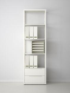 FJÄLKINGE open kast | #IKEA #DagRommel #wit #kast #lades