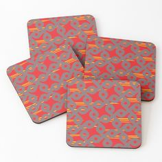 'Define ' Coasters by Table Coasters, Free Stickers, Abstract Print, Cold Drinks, Coaster Set, Print Design, My Arts, Vibrant, Art Prints