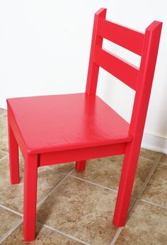 Welp. Evie's play table has been built, so now it's time to build the chairs! After some brainstorming (and a lot of head-scratching), I modified Ana White's plans. Her plans call for 1×2 chair legs and slatted seats, but I wanted our chairs to be a bit more sturdy, so I opted for 2×2 chair...