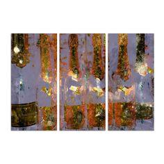 Cristal on Crystal Triptych