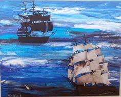 At Sea painting