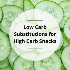 If your goal is to lose weight on a low carb diet, snacking can get you in trouble unless you have a few tricks up your sleeve. In this post, I share three low carb substitutions to high carb snacks that are not only satisfying but also good for you! Pre Cooked Chicken, How To Cook Chicken, 2000 Calorie Diet, Low Carb Diet, Healthy Fats, Healthy Weight Loss, Cauliflower Poppers, High Carb Snacks, Cucumber Chips