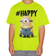 Despicable Me Stop Talking Boys' Graphic Tee