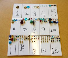 Maths display, white tiles, great for a focused activity Math Games For Kids, Educational Activities For Kids, Fun Math, Preschool Activities, Number Activities, Numbers Preschool, Math Numbers, Preschool Math, Maths Display