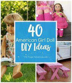 American Girl Doll DIY Ideas - My Frugal Adventures