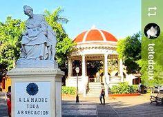 Follow @tetedoux: #Monument to #mothers #CentralPark #Granada #Nicaragua #ILoveGranada #AmoGranada #Travel