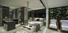 EVEN - Apartamentos novos à venda com alto padrão de qualidade quitinete parede quadro vivo, jardim vertical parede revestida madeira quarto sala