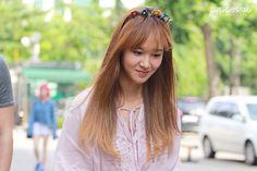 150710 SNSD Yuri @ Music Bank